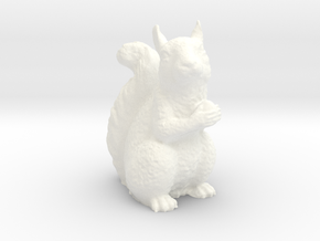 Guardian Squirrel in White Processed Versatile Plastic
