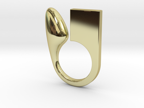 Kin - Size S in 18k Gold Plated Brass