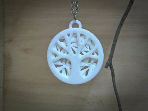Tree of Life Pendant in Stainless Steel