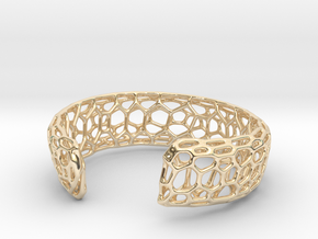 Frohr Design Bracelett Cell Cylce C in 14k Gold Plated Brass