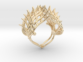 Ring The Iroquois\ knuckle / size 6 US    (16,5 mm in 14K Yellow Gold