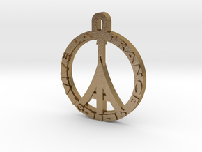 VIVE LA FRANCE in Polished Gold Steel
