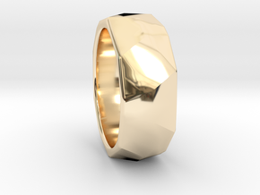 CODE: WP8RS - RING SIZE 7 in 14K Yellow Gold