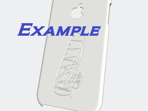 iphone 6 case - customizable in White Processed Versatile Plastic