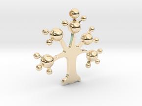 ESJ-0151103 in 14k Gold Plated Brass