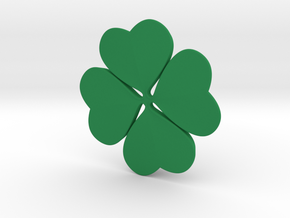 NEW! Lucky Clover NUT, for M6 x1 Screw in Green Processed Versatile Plastic