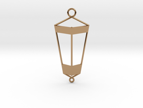 Lantern Pendant in Polished Brass