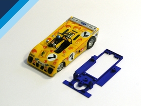 1/32 Sloter Lola T280 Chassis for Slot.it pod in Blue Processed Versatile Plastic