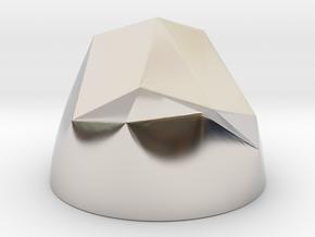 Pen & Paper Rock for 1 Inch field in Platinum