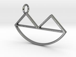 Narsferatu Pendant in Fine Detail Polished Silver