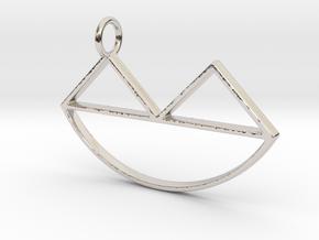 Narsferatu Pendant in Platinum