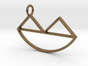 Narsferatu Pendant in Polished Bronze