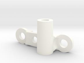 Ampro Tamiya ORV Frog Antenna Mount in White Processed Versatile Plastic