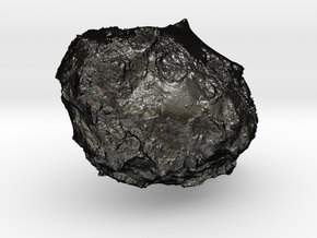 67P/Churyumov–Gerasimenko in Matte Black Steel