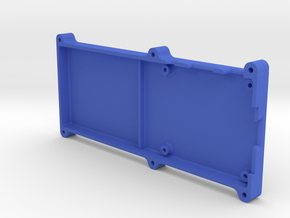Stratux Case Long - Base in Blue Strong & Flexible Polished
