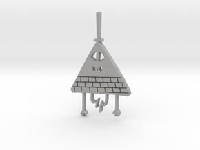 Bill Cipher Pendant/Keychain in Aluminum