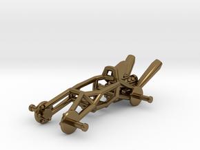 BajaRacer V1: Part 1 in set of 3 - Metal Frame in Polished Bronze
