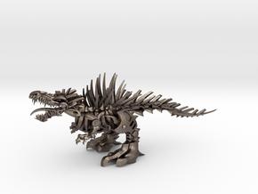 """Raptor V2-3  (100% 16cm - 6.32"""") in Polished Bronzed Silver Steel"""