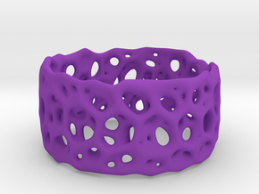 Frohr Design Bracelet Radiolaria Light in Purple Processed Versatile Plastic