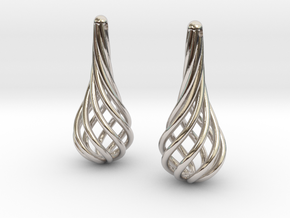 Eardrops (from $15.00) in Rhodium Plated Brass