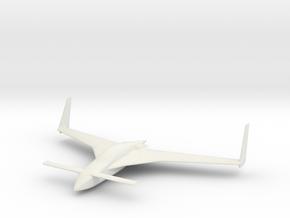 Long EZ 10cm/4in in White Strong & Flexible