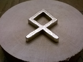 Othila Rune: the symbol of Odin in Stainless Steel