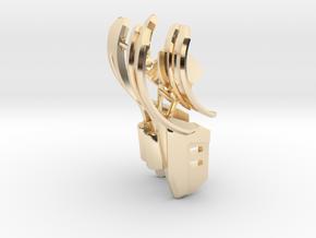 BajaRacerV1: Part 3 in set of 3 - Body Panels in 14k Gold Plated Brass