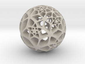 Flower of Life in Natural Sandstone