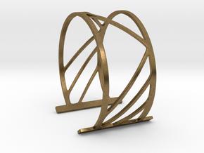 Subgeometric 2_Large in Natural Bronze