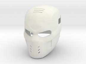 Crossbones - Avengers: Civil War helmet in White Natural Versatile Plastic