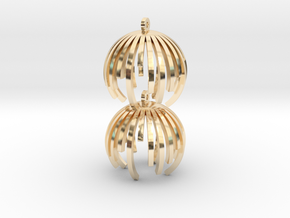 TIME - earrings in 14K Yellow Gold