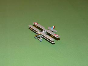 Nieuport Triplane 1:144th Scale in White Natural Versatile Plastic
