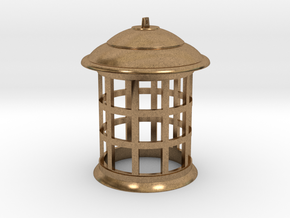 1/4 Scale TARDIS Top Lamp in Natural Brass