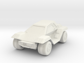 GV17 Utility Car (28mm) in White Strong & Flexible