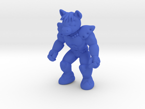 Bronar the Barbarian in Blue Processed Versatile Plastic