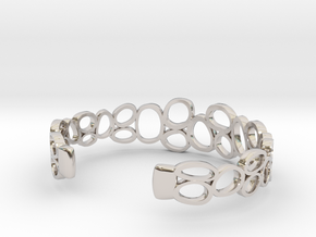 Rings and Things Bracelet in Platinum