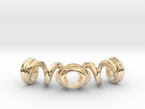 Spiral Bracelet in 14K Yellow Gold