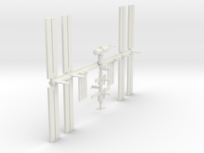 1/537 NASA International Space Station ISS in White Natural Versatile Plastic