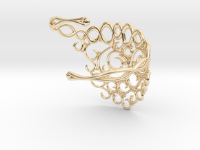 Arabesque Bracelet in 14K Yellow Gold