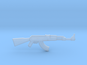 AK-47 1/48 scale in Frosted Ultra Detail