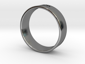 James Bond: Spectre Ring - Size 13.5 in Fine Detail Polished Silver
