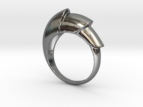 Nautical_Ring in Fine Detail Polished Silver