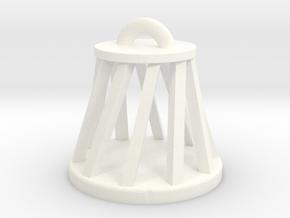 christmas ornament in White Processed Versatile Plastic