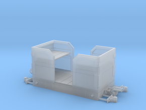 1:24 Heywood Small Passenger Car in Smooth Fine Detail Plastic