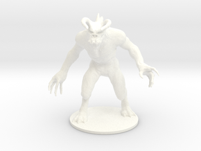 Deadly Claw in White Processed Versatile Plastic