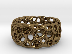 Frohr Design Radiolaria XL in Polished Bronze