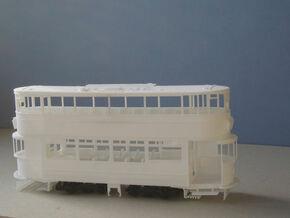 1:43 London Transport E/3 Tram - Part 1 in White Strong & Flexible