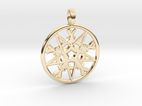 ESOTERIC MIST in 14k Gold Plated Brass
