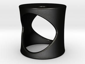 Midnight Sun - Size XS in Matte Black Steel
