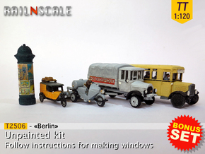 BONUS SET «Berlin» (TT 1:120) in Frosted Ultra Detail